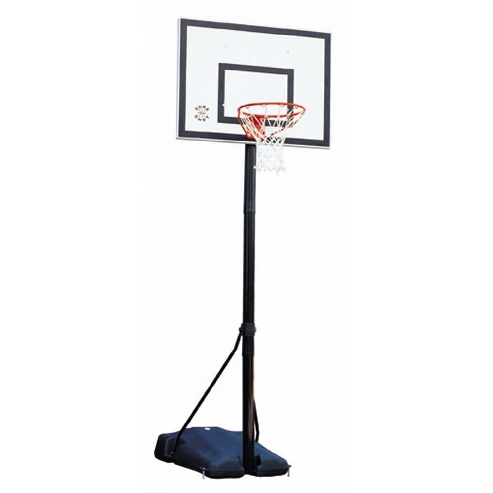Freestanding School Basketball Post 6 10ft Net World