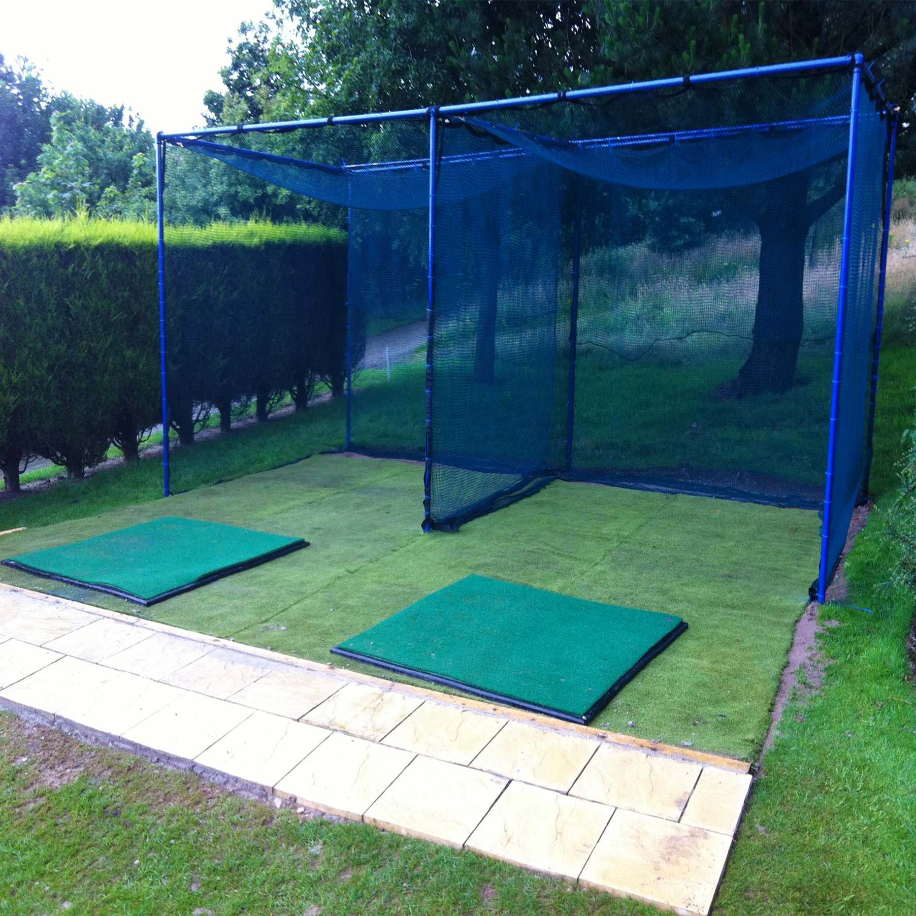 Fixed Golf Cage Golf Training Hitting Nets Net World