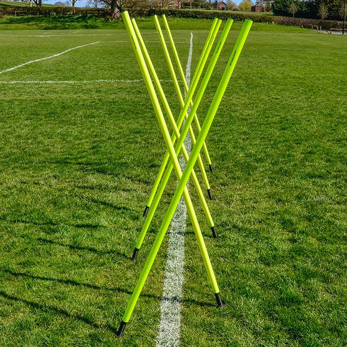 Multi-Sport Slalom Poles for Fitness Training