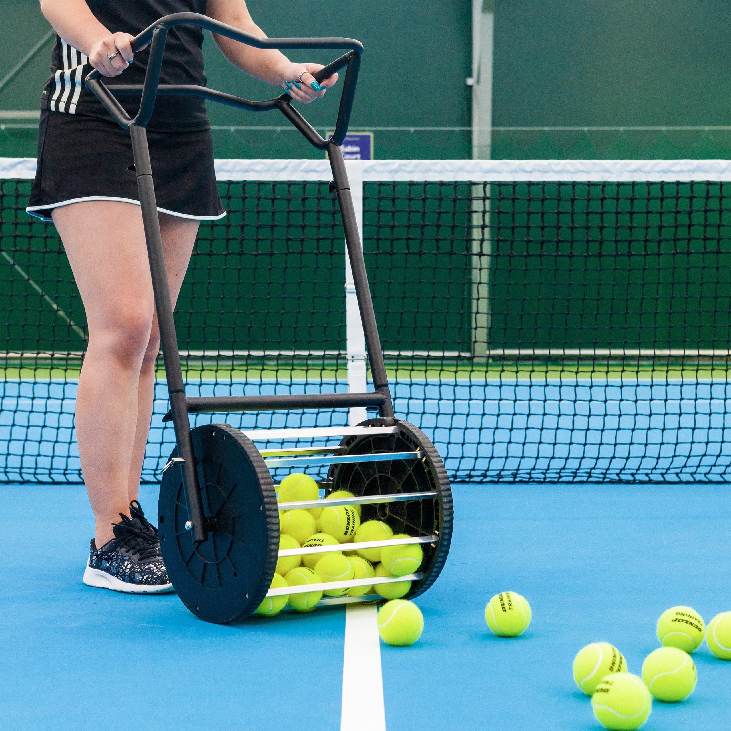 Tennis Ball Collector Tennis Ball Hopper Net World Sports