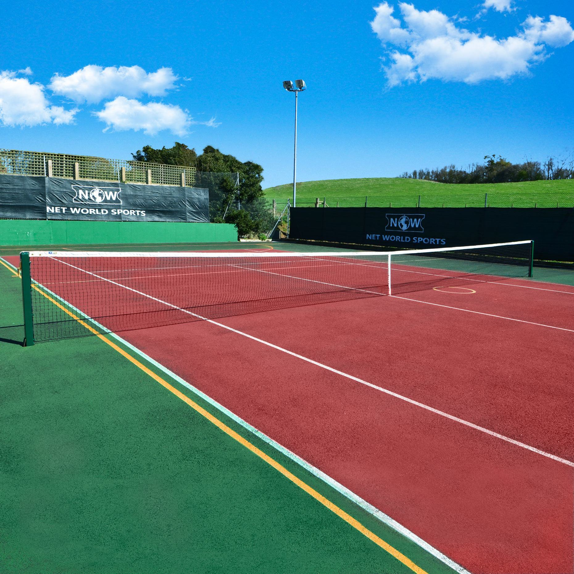 3.5mm DT Championship Tennis Net - Court
